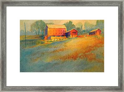 Wynnorr Farm Framed Print by Virgil Carter