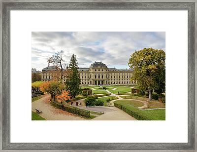 Wurzburg Residence Framed Print by Motty Henoch