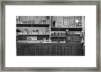 Wv Coal Company Store Framed Print by Chris Flees