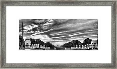 Ww Two Memorial Framed Print
