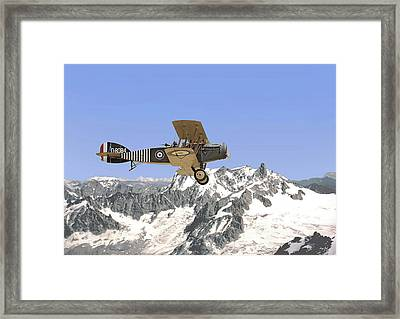 Ww1 - Bristol Fighter Framed Print by Pat Speirs