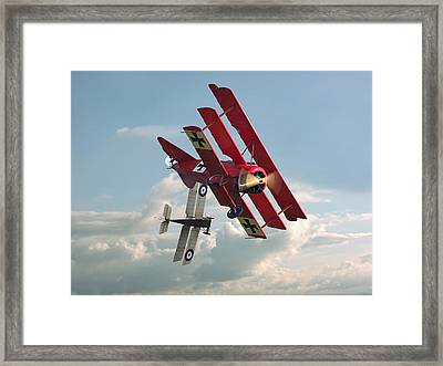 Ww1 - Combat - One On One Framed Print