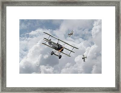 Framed Print featuring the photograph Ww1 - Fokker Dr1 - Predator by Pat Speirs