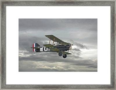 Framed Print featuring the digital art Ww1 - Icon Se5 by Pat Speirs