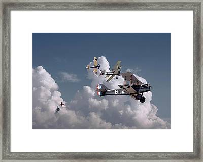 Ww1 - Se5 - Up Sun Framed Print by Pat Speirs