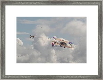 Ww1 - The Fokker Scourge - Eindecker Framed Print