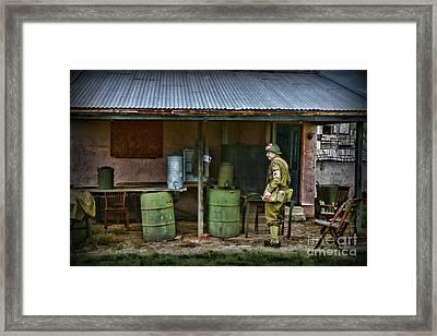 Ww2 American Medic Framed Print