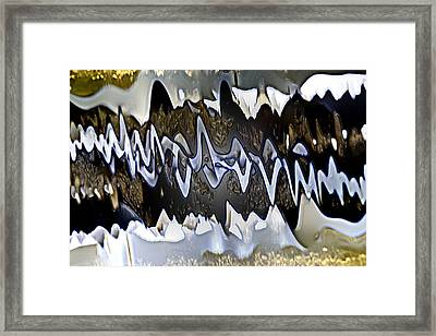 Framed Print featuring the photograph Wwaatteerr by Tom Cameron