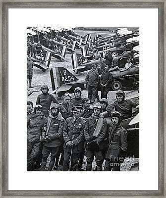 Wwi, No. 1 Raf Squadron, 1918 Framed Print by Science Source