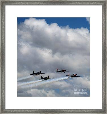 Yakovlev 52 3 - The Birds In Flight Framed Print