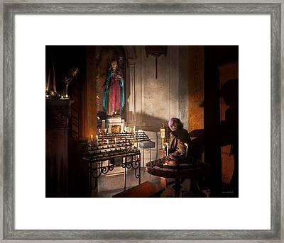 Wwii - I'll Pray For You 1944 Framed Print