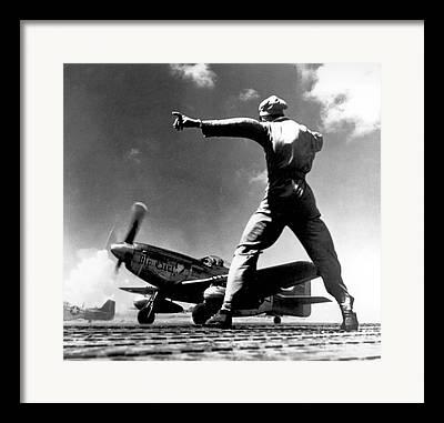 Bomber Escort Photographs Framed Prints