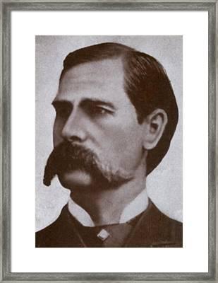 Wyatt Earp 1848-1929, Legendary Western Framed Print by Everett