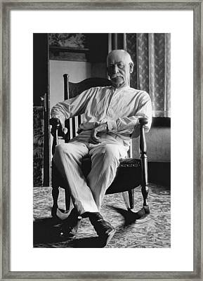 Wyatt Earp 1923 - Los Angeles Framed Print by Daniel Hagerman
