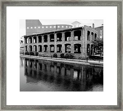 Framed Print featuring the photograph Wyche Pavilion by Corinne Rhode