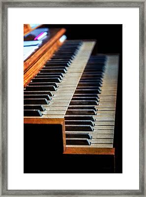 Wye Mills Church Organ Framed Print by Brian Wallace