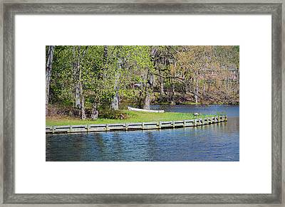 Wye Mills Landscape Framed Print by Brian Wallace