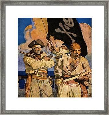 Wyeth: Treasure Island Framed Print