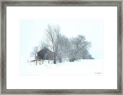 Wyeth Winter Framed Print