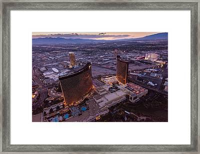 Wynn Aloft Las Vegas N V Framed Print by Steve Gadomski
