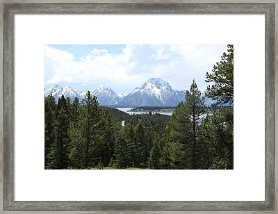 Wyoming 6490 Framed Print