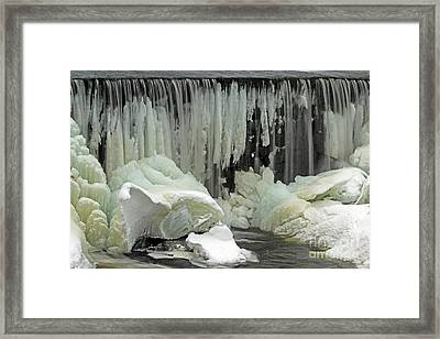 Wyoming Dam Framed Print