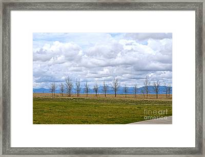 Wyoming-dwyer Junction Framed Print
