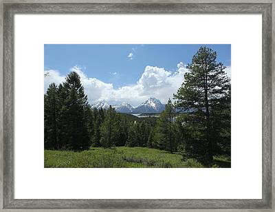 Wyoming 6500 Framed Print