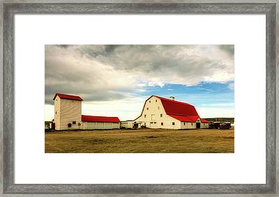 Wyoming Ranch Framed Print by L O C