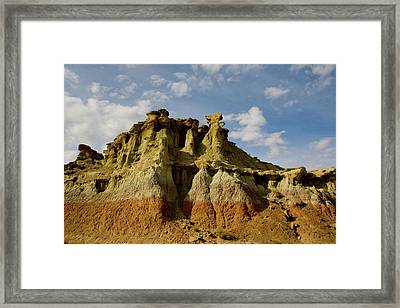 Wyoming Spirals Framed Print