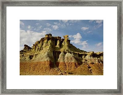 Wyoming Spirals Framed Print by Suzanne Lorenz