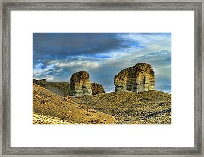 Wyoming Xi Framed Print by Chuck Kuhn