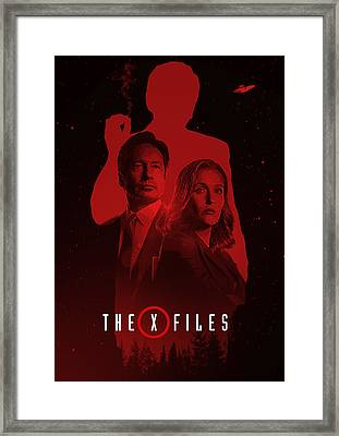 X-files  Framed Print by Afterdarkness