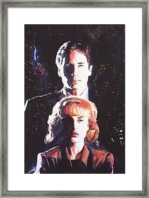 X-files Framed Print by Ken Meyer jr