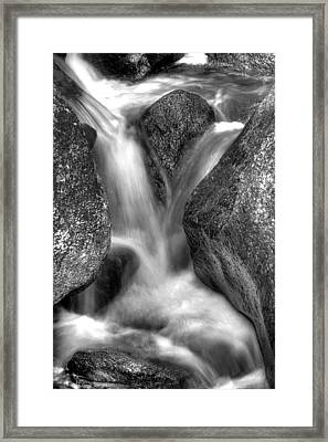 X Flow Framed Print by Kevin Munro