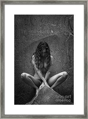 X Framed Print by Inge Johnsson