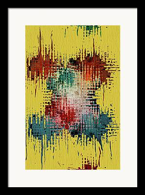 Contemporary Abstract Mixed Media Framed Prints