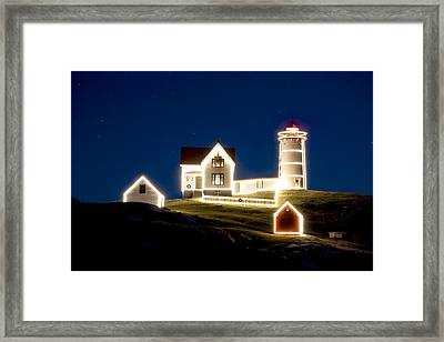 X-mas Nubble Framed Print by Greg Fortier