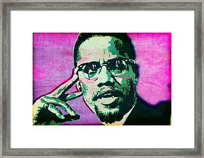 X Framed Print by Otis Porritt
