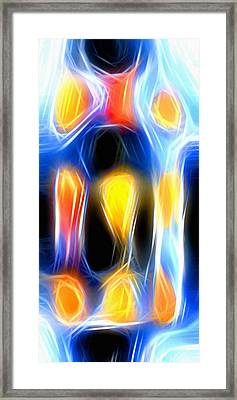 X-ray Abstract Framed Print