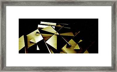 X Robot Framed Print by David BERNARD
