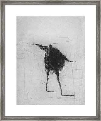 X Framed Print by Valdas Misevicius