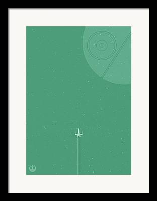 Intergalactic Space Framed Prints