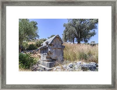 Xanthos - Turkey Framed Print by Joana Kruse