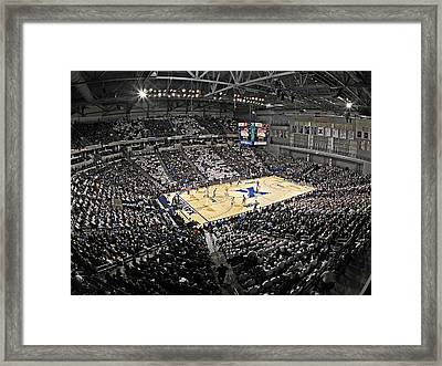 Xavier Musketeers Cintas Center Framed Print by Replay Photos