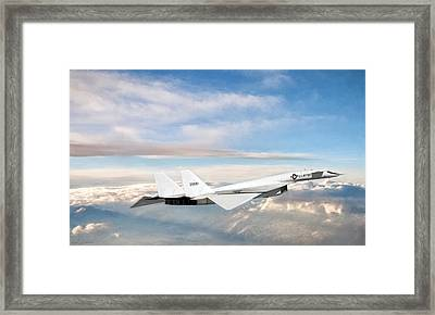 Xb-70 Valkyrie Framed Print by Peter Chilelli