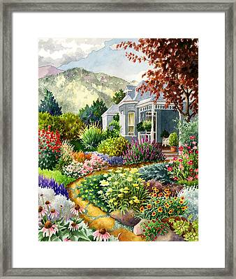 Xeriscape Garden Framed Print