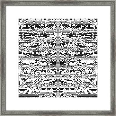 Xfixqmlx B Framed Print by Qq Qqq