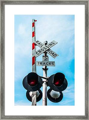 Xing Framed Print by Shelby  Young