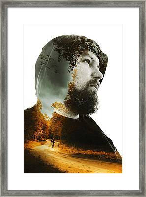 XIX Framed Print by Art of Invi